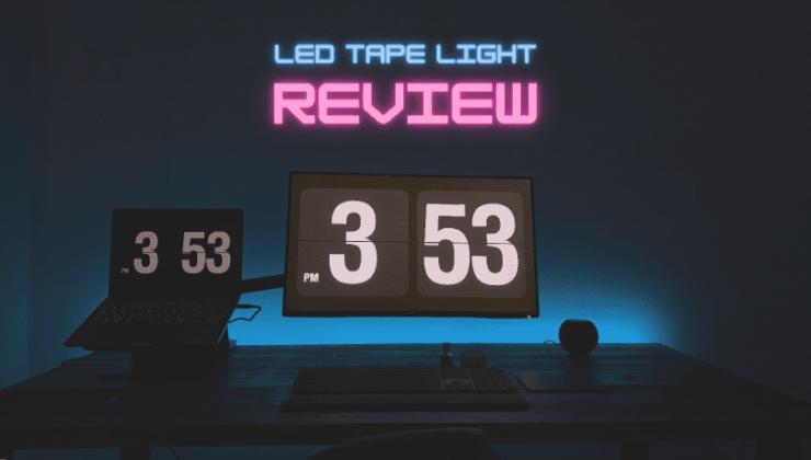 Lighting EVER LEDテープライト レビュー
