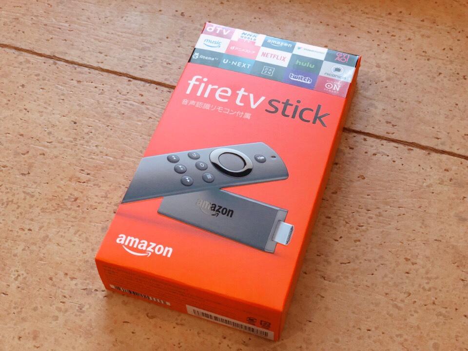 Amazonのfire TV stickが超絶おすすめ!購入してから毎日愛用している