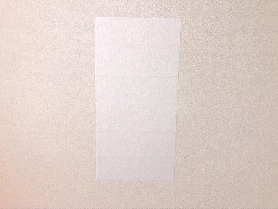 ダイソーのインテリアシートを壁に貼ってみた