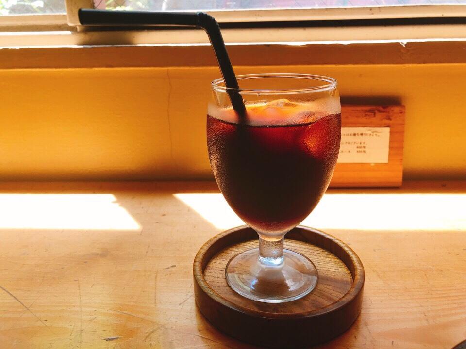 デモッソノットキーノのアイスコーヒー