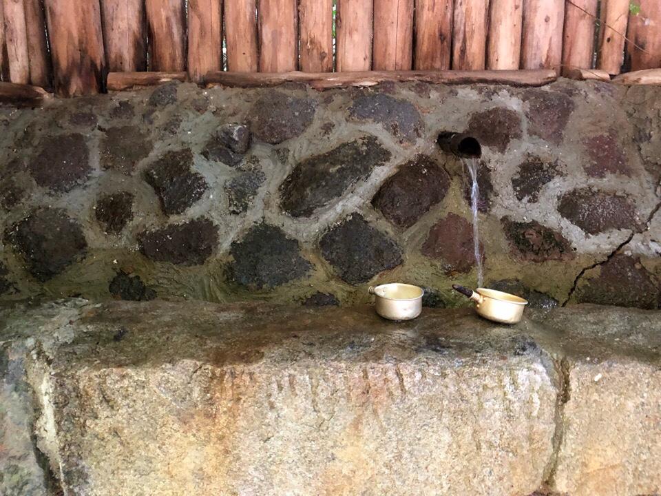 山の寺 邑居の山の寺水原水を飲んでみた