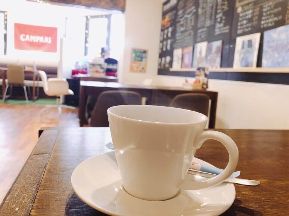 住吉azito(アジト)のランチにつけれる食後のコーヒー