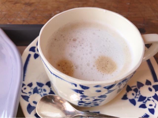 アンボワーズのカフェラテ