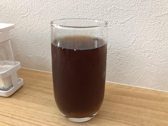 住吉の牛たん専門店 大阪屋のお冷はお茶